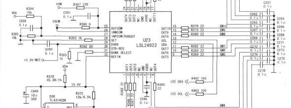 长虹sf2183场块保护电路启动电路